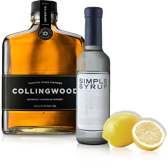 Ingredients for a Collingwood Sour