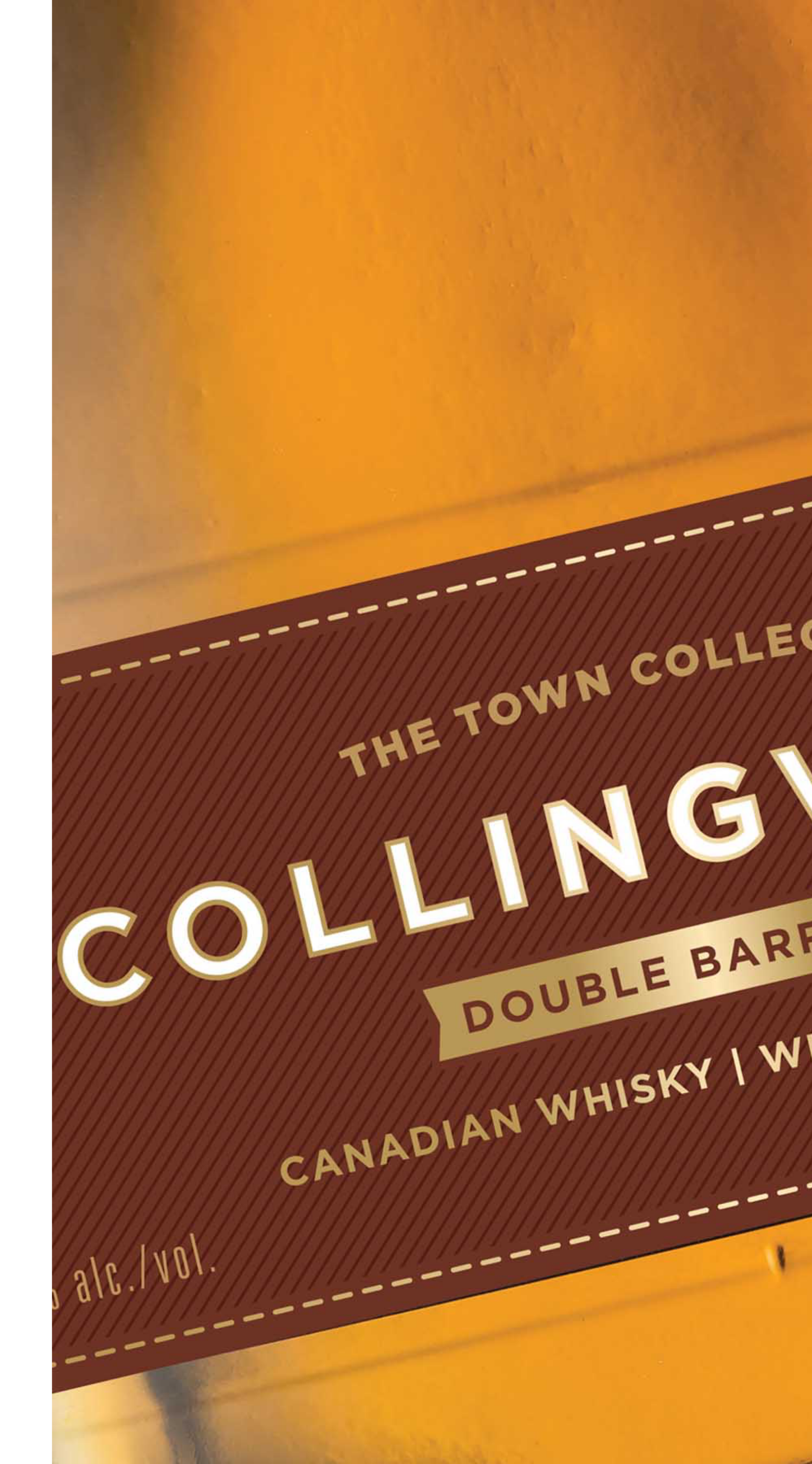 Collingwood bottle label